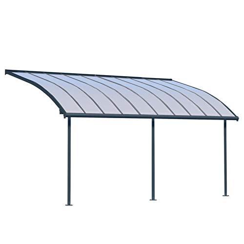 Palram Terrassendach Joya, Terrassenüberdachung 295x619 cm grau