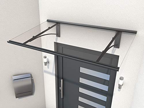 Gutta Pultformvordach Vordachsystem Türdach 1600x900x270mm Anthrazit 7200536