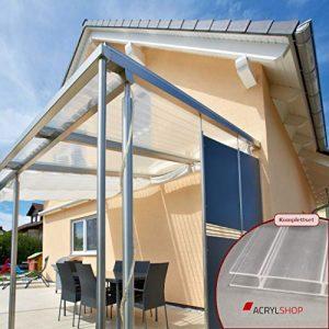 Terrassenüberdachung 4m x 3m