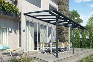 Veranda-Überdachung aus Stahl